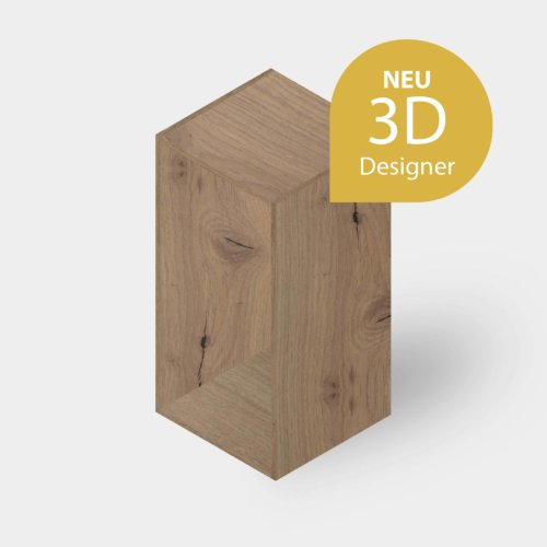 Holzplatte online Schrank und Kasten 3D Designer