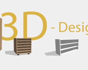 individuelle Schränke und Kästen im 3D-Designer bei holzplatte-online.com